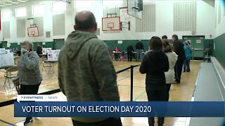 Lines for Election Day 2020