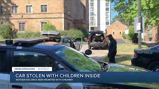 Car stolen in Buffalo