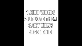 Making money on YouTube is easy.