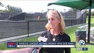 World's Largest Hitting Frenzy
