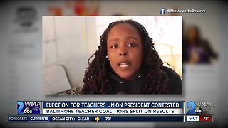 Election for Baltimore Teachers Union president contested