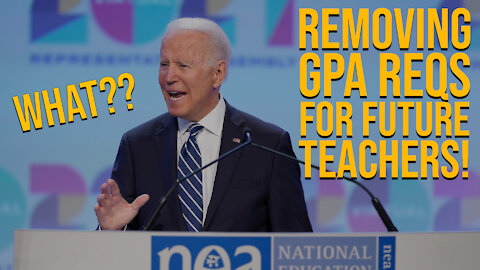 Removing GPA Requirement for Future Teachers!
