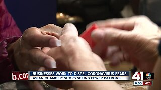 Businesses work to dispel coronavirus fears