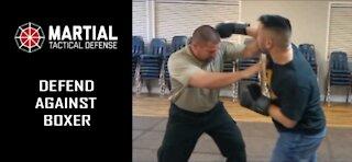 Defend against a boxer
