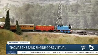 Thomas the tank engine goes virtual