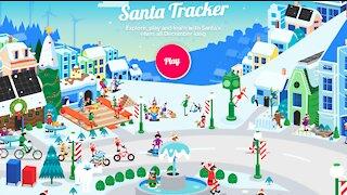 Santa Tracker: Checking Up on Santa Just Before Christmas