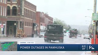 Power outages in Pawhuska