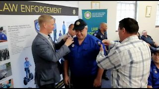 SOUTH AFRICA - Cape Town - Law Enforcement Auxiliary Service (Video) (Ywq)