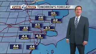 Warmer this weekend