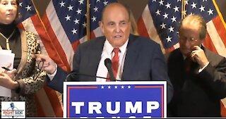 Rudy Giuliani and Sidney Powell Expose Massive 2020 Election Fraud
