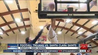 Foothill Trojans advance to State Regional Semi-Finals, defeat Santa Clara, 66-42