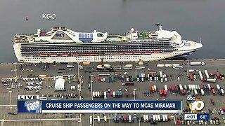 Cruise passengers to arrive at MCAS Miramar for coronavirus quarantine