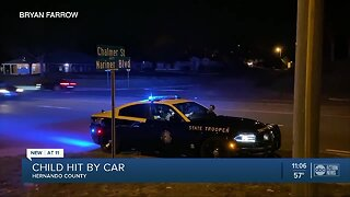 7-year-old boy suffers serious injuries after being struck by vehicle in Hernando County
