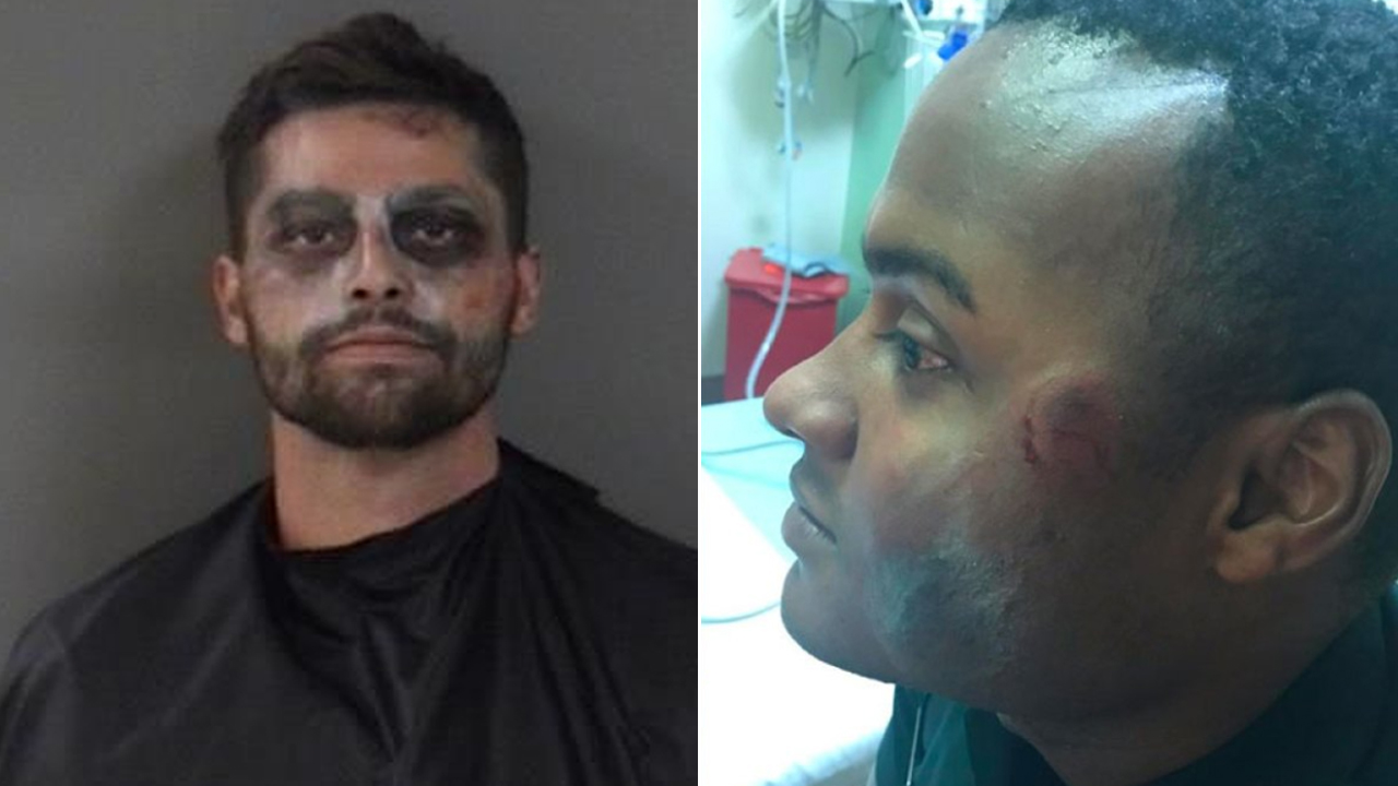 Man accused of biting Indian River County deputy's face on Halloween night