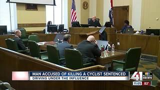 Man accused of killing cyclist sentenced