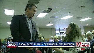 Bacon faces primary challenge in May election