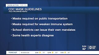 Should vaccinated people wear masks?