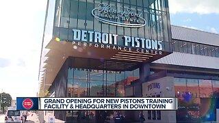Detroit Pistons Performance Center grand opening