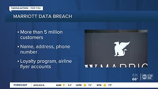 Marriott says data breach affects 5.2 million guests, does not believe credit card info was accessed