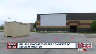 Bellevue Movie Theater Converts to Drive-In Theater