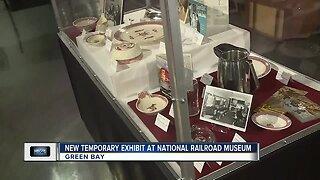 New temporary exhibit at Railroad Museum