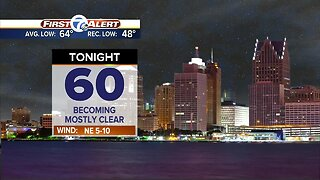 Metro Detroit Forecast: Cooler with lower humidity