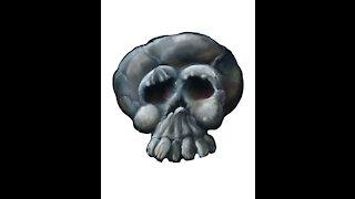 Skull Speed Drawing