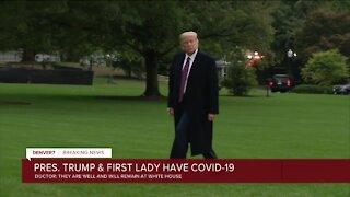 President Tump, First Lady test positive for COVID-19: What we know