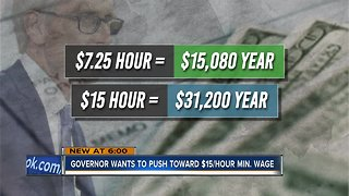 Businesses weigh in on Gov. Tony Evers' $15/hour minimum wage proposal
