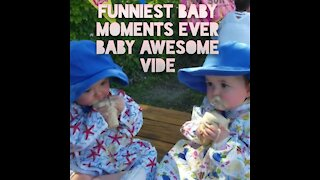Funniest Baby Moments Ever #| Baby Awesome Video