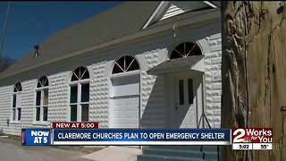 Claremore churches hope to open emergency shelter