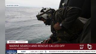 Missing Marines, sailor in training mishap presumed dead