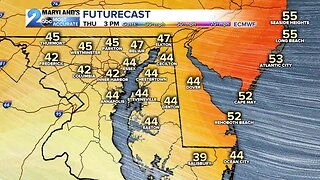 Chilly Winds Blow In Thursday