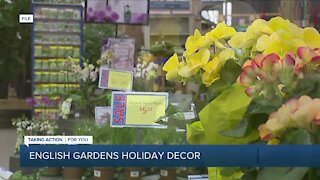 English Gardens Holiday Decor