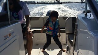 Blasian Baby Brother Boat Dancing, Part 2