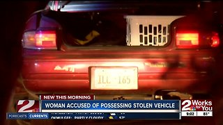 Tulsa Police discover meth in stolen car