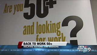 Back to Work 50+, helping older adults find jobs