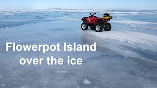 Winter cruise to Flowerpot Island