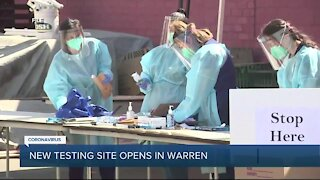 New COVID-19 testing site in Warren offers saliva tests starting Dec. 3