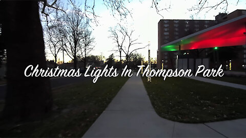 Christmas Lights In Thompson Park