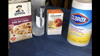 How to clean your groceries (video)