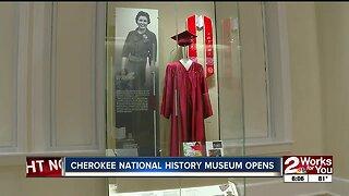 Cherokee National History Museum Opens