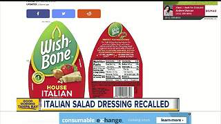 Recall issued for Wish-Bone House Italian salad dressing