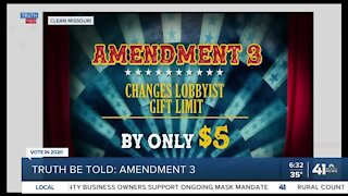 Truth Be Told: Amendment 3