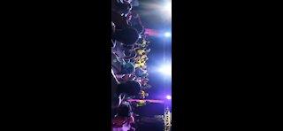 Kao Denero Live Performance At Tihun Beach sierra leone
