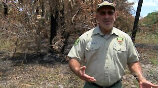 Florida's fire season costs from the firefighters who respond to them