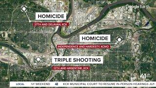 Kansas City police investigate overnight homicide