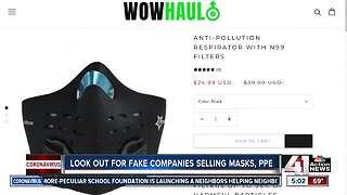 Scam alert: Shoppers duped into buying counterfeit masks