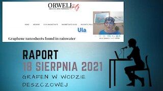 Raport 18 sierpnia 2021: Grafen w wodzie deszczowej, Hiszpania
