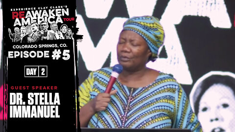 Dr Stella Immanuel | For We Wrestle Not Against Flesh and Blood, But Against Against Spiritual Wickedness In High Places!!!